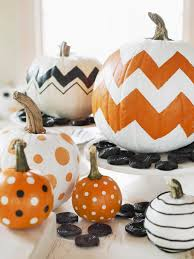 Fake Carvable Pumpkins by Who Needs To Carve A Pumpkin When You Can Easily Make Patterned