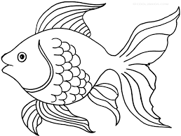 Fish Simple Coloring Pages