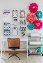Corner Desk Organization Ideas by Diy Home Office Memo Board Burkatron Regarding Wall Hanging Desk
