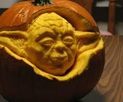 Yoda Pumpkin Stencil by Critical Pumpkin Carving Geek And Sundry