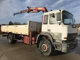100 26 Truck IVECO 190 CRANEGRUEFULL STEEL Flatbed Trucks For Sale Drop