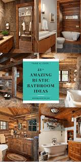 21+ Unbelievable Rustic Bathroom Ideas (Easily Applicable) – Demian ... Bathroom Rustic Bathrooms New Design Inexpensive Everyone On Is Obssed With This Home Decor Trend Half Ideas Macyclingcom Country Western Hgtv Pictures 31 Best And For 2019 Your The Chic Cottage 20 For Room Bathroom Shelf From Hobby Lobby In Love My Projects Lodge Vanity Vessel Sink Small Vanities Cheap Contemporary Wall Hung