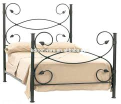 White Wrought Iron King Size Headboards by Cast Iron Headboard Uk Antique Wrought And Footboard Full
