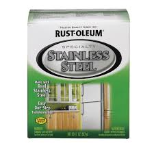 Rust Oleum Decorative Concrete Coating Applicator by Rust Oleum Stainless Steel Paint Kit 2479630 Specialty Paints