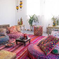 orientalische deko bilder ideen bohemian room
