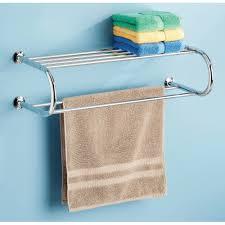 Bathroom Towel Bar With Shelf by Bathroom Shelves Walmart Com