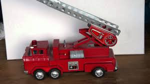 100 Antique Toy Fire Trucks Vintage Toy Fire Truck Japan YouTube