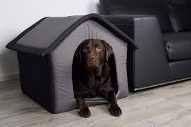 stoff hundehütte hundehöhle grau l 64 x b 57 x h 60 cm