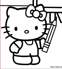 Kitty Coloring Sheets On To Score Some Really Cute Hello Pages For Free