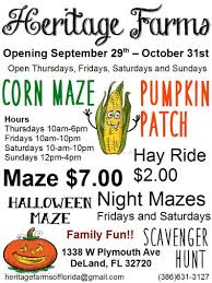 Orlando Pumpkin Patch by Heritage Farms Corn Maze And Pumpkin Patch Family Fun Events In