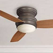 Flush Mount Ceiling Fans With Lights 44 by 44 In Span Or Smaller Hugger Flush Mount Ceiling Fans Lamps