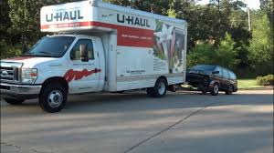 Self Move Using U-Haul Rental Equipment Information - YouTube