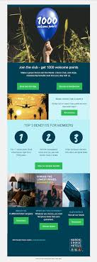 Classic Hotel Industry Email Inspirations To Spice Up Your ROI