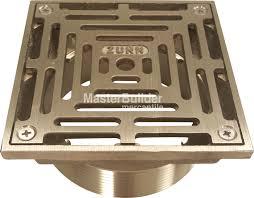 Zurn Floor Sink Covers zurn zn400 y medium duty square nickel bronze floor drain strainer