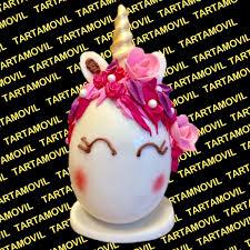 Huevo De Pascua Forma Unicornio