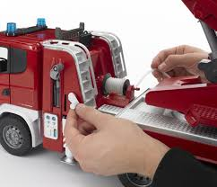 BruderSCANIA R-SERIES FIRE ENGINE WITH WATER PUMP Bruder Mack Granite Fire Engine With Slewing Ladder Water Pump Toys Cullens Babyland Pyland Man Tga Crane Truck Lights And So Buy Mack Tank 02827 Toy W Ladder Scania R Serie L S Module Laddwater Pumplightssounds 3675 Mb Across Bruder Toys Sound Youtube Land Rover Vehicle At Mighty Ape Nz Arocs With Light 03670 116th By