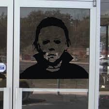 Michael Myers Halloween Stencil by Aliexpress Com Buy Michael Myers Halloween Amok Vinyl Wall