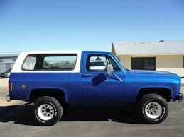 1976 K5 BLAZER 4X4 CALIFORNIA TRUCK NEW INTERIOR & PAINT RUNS