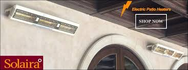 Solaira Patio Heaters by Solaira Sunpak Sunglo Bromic Gas U0026 Electric Patio Heaters