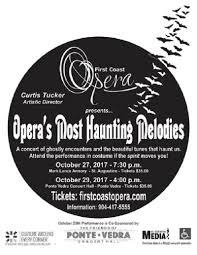 Spirit Halloween Montgomery Albuquerque by Opera U0027s Most Haunting Melodies Presented By First Coast Opera