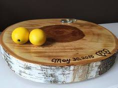 Birch Cake Stand Engraving On Cutting Boards Personalized Gifts For Bride