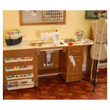 Sewing Cabinet Plans Instructions by Amazon Com Norma Jean Wooden Sewing Table Desk Finish Oak Arts