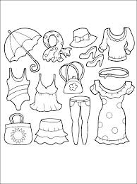 Coloring Pages Of Clothes Doersite 2085627