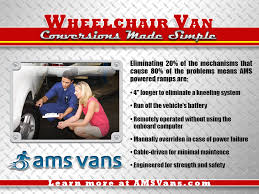 Wheelchair Van Conversions Made Simple
