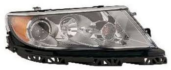 2012 lincoln mkz right passenger side halogen light assembly
