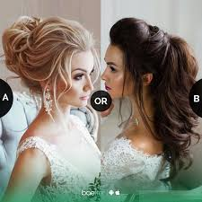 Which Bridal Puff Hairstyle Youd Love To Carry Messybun Or