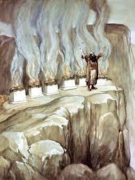 Balaam Prophesies The Glory Of Israel By James Tissot