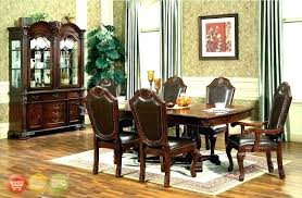 Dining Room Set With Hutch Light Oak Chairs Mesmerizing Table Solid And Corner Furniture