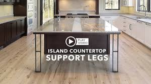 100 How To Change Countertops Two Island Countertop Support Legs That Will Completely Change The Look Of Your Kitchen