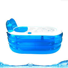 Portable Bathtub For Adults Canada by Opar New Foldable Durable Spa Inflatable Bath Tub With