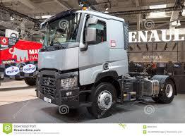 100 4x2 Truck Renault S C460 Optitrack Editorial Stock Image