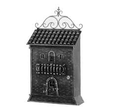 Shop line Mail Boxes Wrought Iron 100% Made in Italy Galbusera