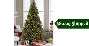 Head Over To Best Choice Products Where You Can Get A 6 Foot Pre Lit Spruce Hinged Artificial Christmas Tree With Stand For 8999 Shipped