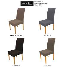 SureFit Dining Chair Cover Protector Taupe Colour Stretch Pearson ... Ding Chair Slipcover Sewing Pattern Chairs Home Room Sets Sure Fit Soft Suede Shorty Taupe Velvet Cover Jf Covers Homiest 1 Pc Spandex Stretch Linen Store Basket Weave Texture Form Portland Full Length 4 Pack Shop Luxury Collection Metro Free Shipping On Decor Best For Parson Create Awesome Pearson Pin By Neby On Modern Interior Ideas Room Chair Long Chateau Toile Cottonpolyester Amazoncom Classic Slipcovers Cabana Stripe Short