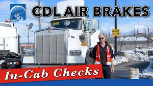 100 Truck Pre Trip Inspection Checklist How To Do InCab CDL Air Brake With