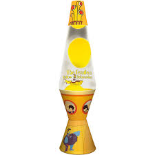 beatles yellow submarine lava l 2164 14 5 beatles yellow submarine lava l yellow wax clear