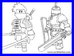 Inspiring Printable Roblox Coloring Pages Picture Of For Boys Ninja