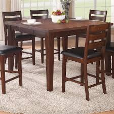 Rubio Solid Wood Pub Table