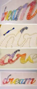 Cool DIY String Art Tutorial