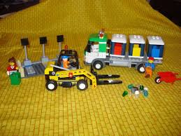 100 Lego Recycling Truck City And Forklift 4206 1807534426