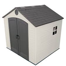Suncast 7 X 7 Alpine Shed by Shop Vinyl U0026 Resin Storage Sheds At Lowes Com