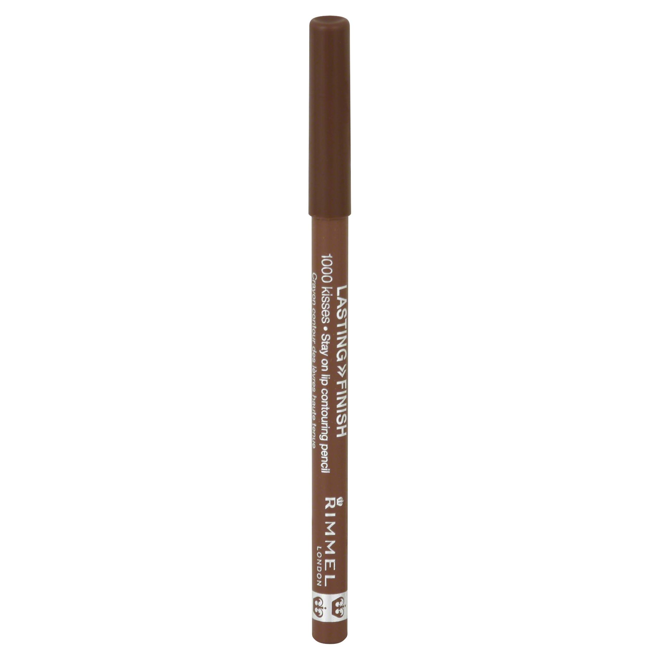Rimmel London Lasting Finish 1000 Kisses Stay on Lip Colouring Pencil - 047 Cappuccino, 1.2g