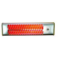 chauffage mural salle de bain radiant rayonnant 1500w infrarouge