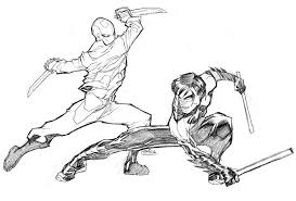 Related Nightwing Coloring Pages Item 3144