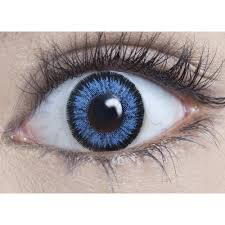Halloween Prescription Contacts Uk by Mesmereyez Natural Halloween Coloured Contact Lenses Real Blue 1 Day