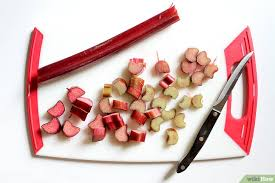 cuisiner la rhubarbe comment faire cuire la rhubarbe 6 é wikihow
